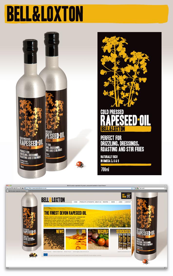 Bell & Loxton new website, logo and bottle label design