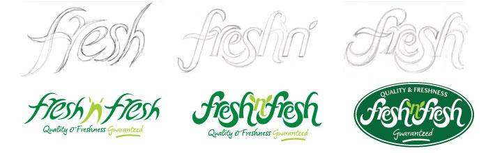 Fresh N Fresh logo design