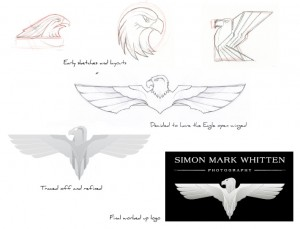 Simon Mark Whitten Photography logo design