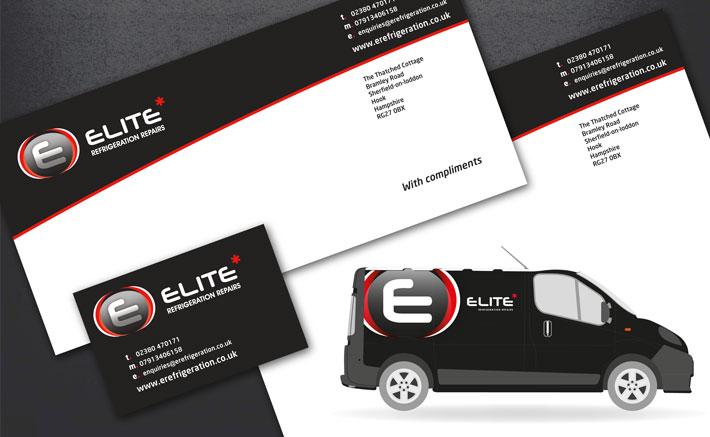 Elite Refrigeration Brand Design Logo Design
