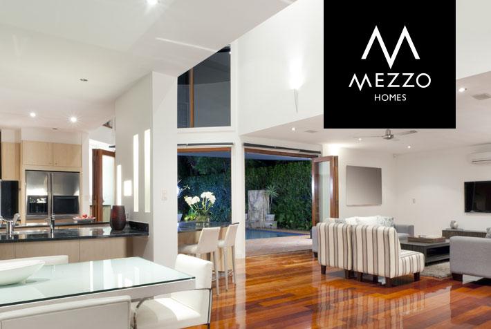 mezzo-homes-logo-design
