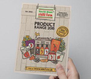 devon chilli farm brochure design by Logo Design