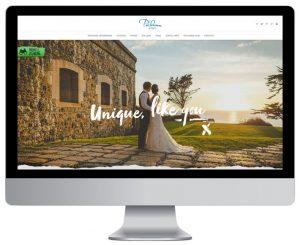 Polhawn Fort website design by Logo Design