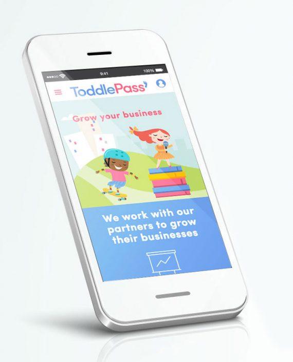 toddlepass-mobile-logo-design