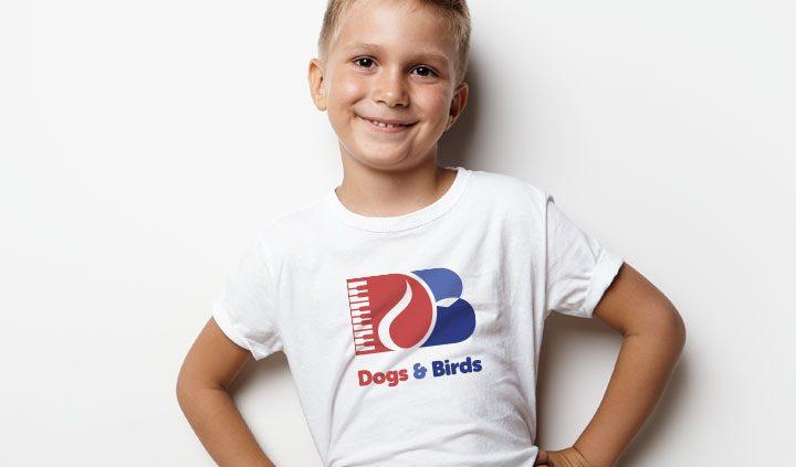 dogs birds logo