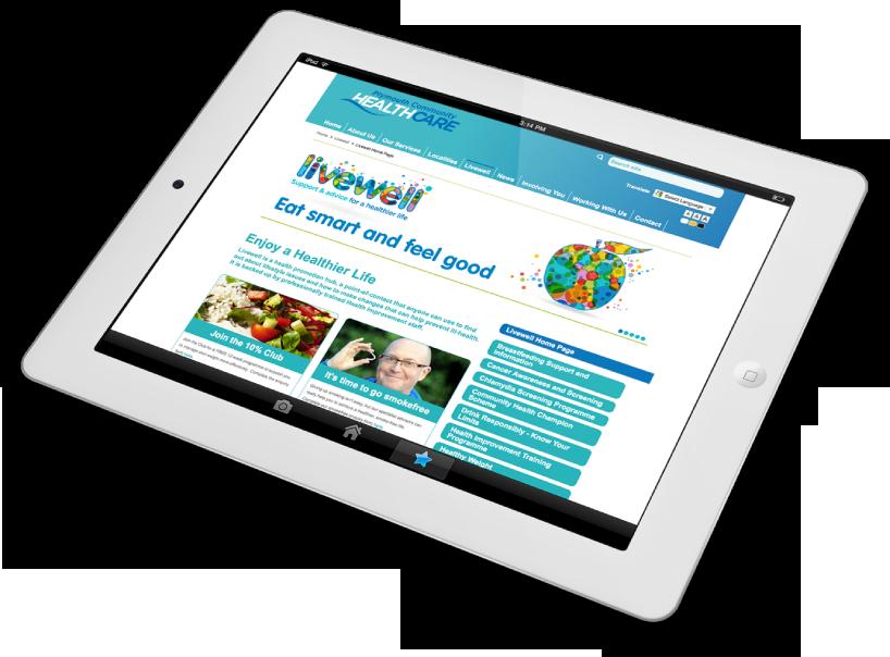 livewell-website-logo-design