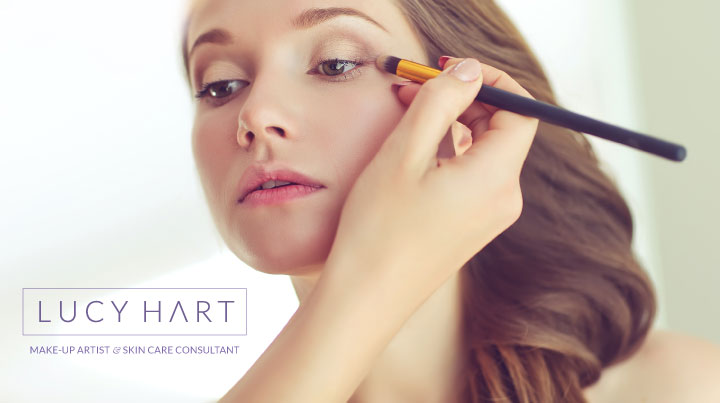 Lucy Hart Make-up Artist - Logo Design