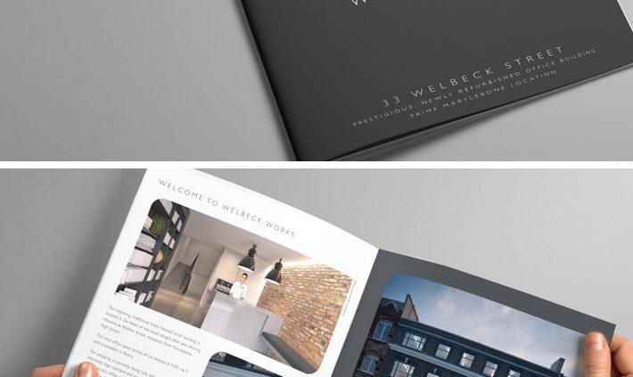 Wellbeck Works Brochure by Logo Design